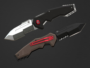 3D pocket knife