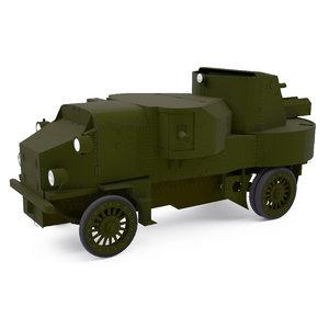 3D modeled model