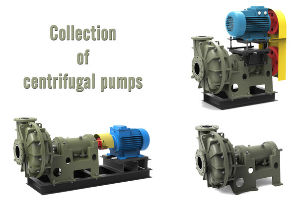 centrifugal pumps 1 3D