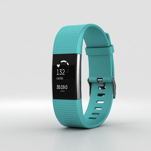 3D fitbit charge 2