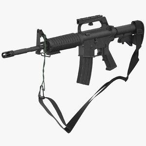 3D m16 rifle m16a2 -