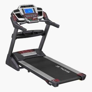 sole f85 treadmill rigged 3D model