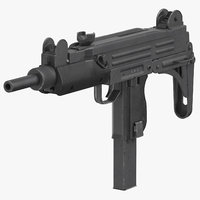 Submachine Gun UZI SMG