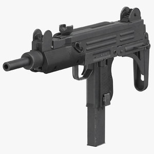 submachine gun uzi model