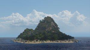 tropical island model