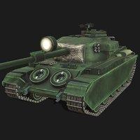centurion tank 3D