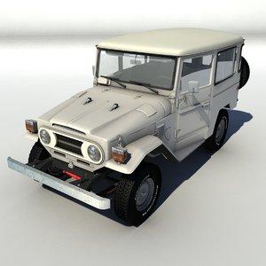 cruiser 4wd 3D model