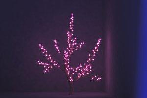 3D sakura tree