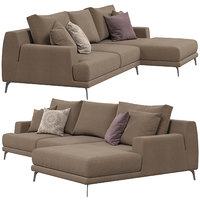 ditre italia foster sofa 3D model