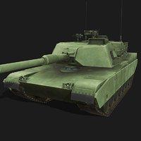 m1 abrams battle tank model
