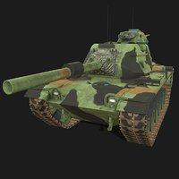 3D m60 tank model