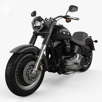 Harley-Davidson FLSTFB Softail Fat Boy Lo 2010