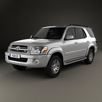 3D toyota sequoia limited model