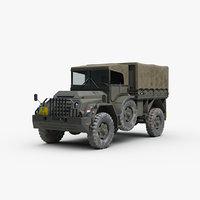 DAF YA126 Military Truck