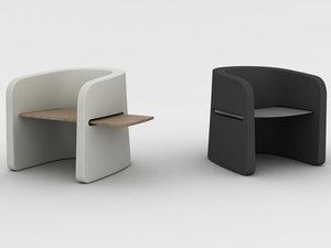 3D talea chair model