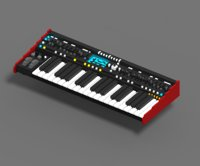 voxel synthesizer 3D model