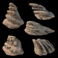 desert stones pbr workflow 3D