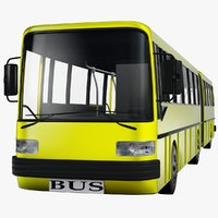 3d model bus
