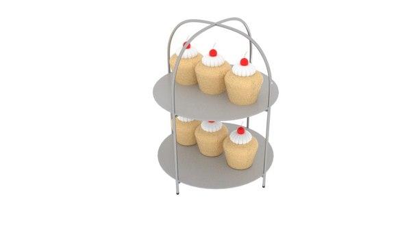 cupcake trey model