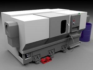 cnc machine 3D