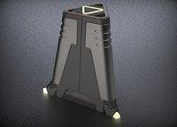 3D model sci-fi props