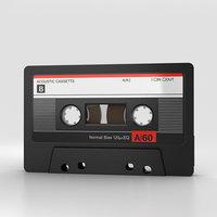 3D cassette model