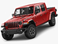 3D jeep gladiator