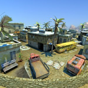 arabic battlefield 3D