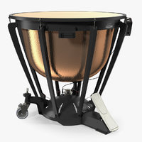 Timpani Yamaha 3D Model