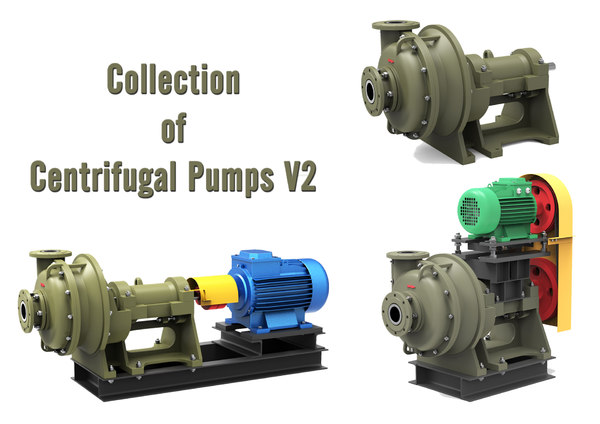 centrifugal pumps 3D