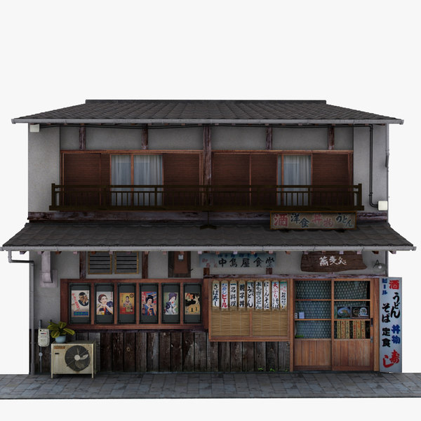 restaurant store 3D