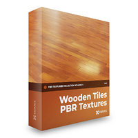 Wooden Tiles PBR Textures - Collection Volume 4