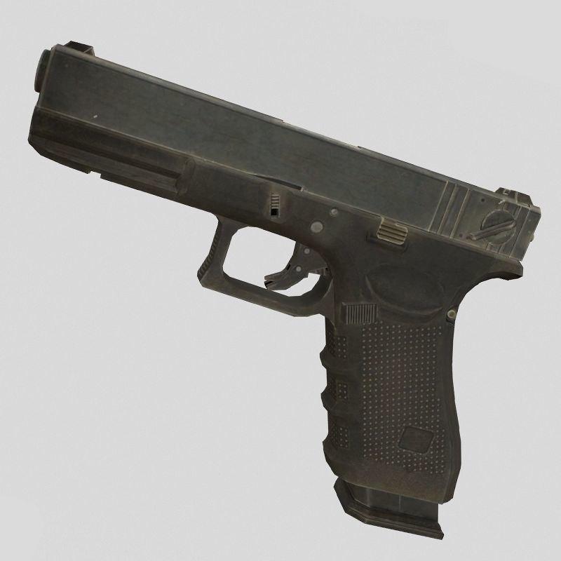 glock 3D model