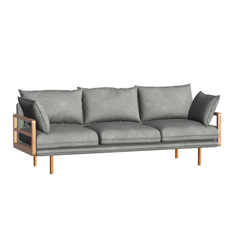 3D model sofa - propus