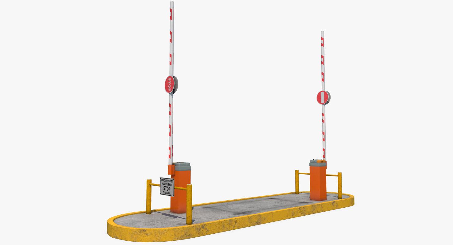 3D security gates