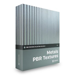 Metals PBR Textures  Collection Volume 6