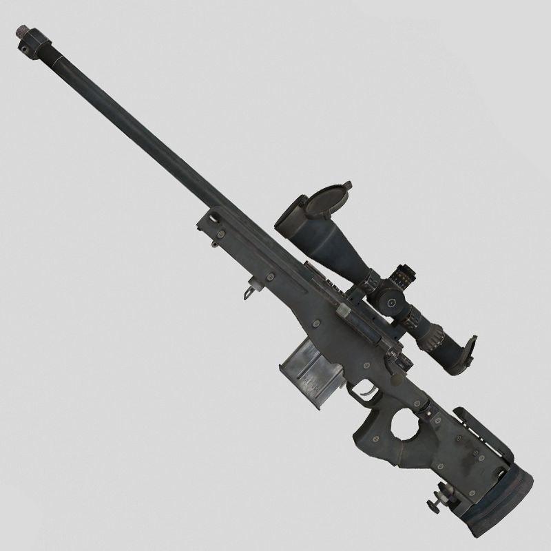 gun weapon 3D model