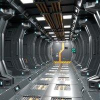 Sci Fi Corridor 01 PBR