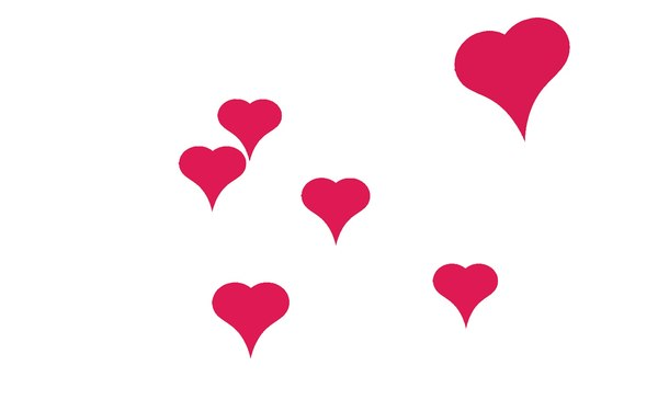 heart love herz model