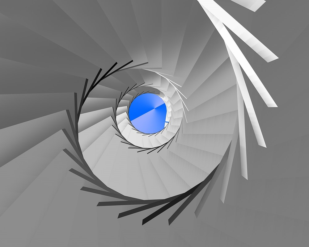 stairs leiter ladder les 3D model