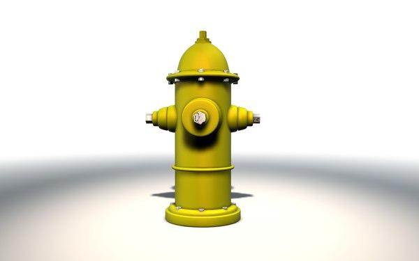 hidrant firefighter feuerwehrleute model