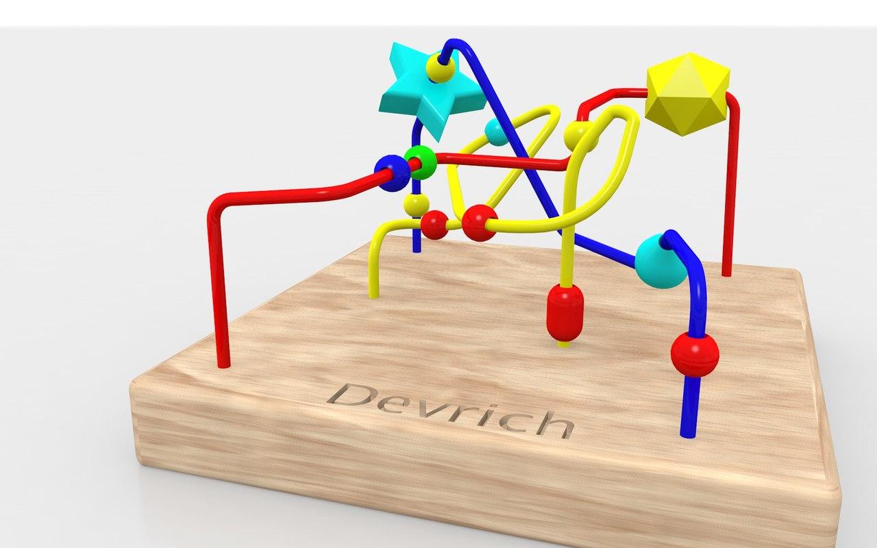 child toy d 3D