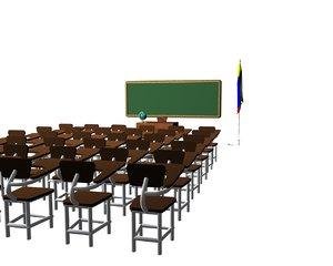 salle classroom model