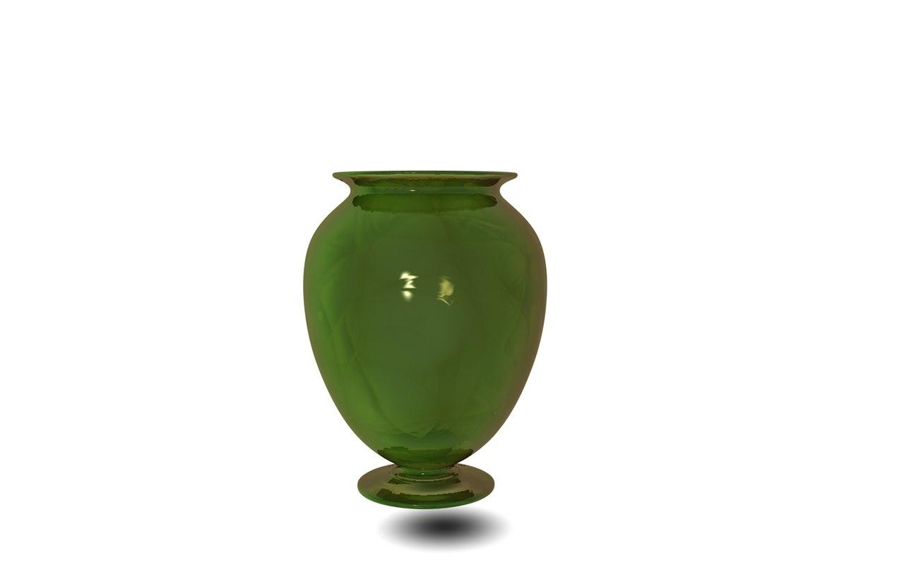 3D glass vessel