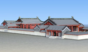chinese house 3D