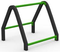 3 level push up bar