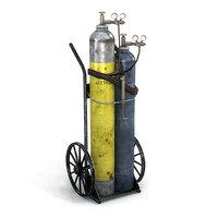 Oxy-Acetylene Cart 1