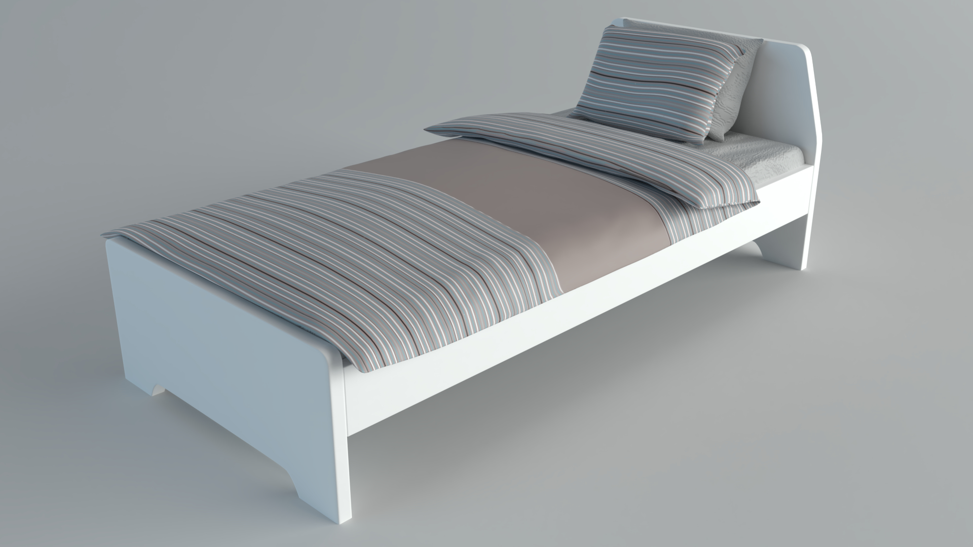 Einzelbett Ikea Askvoll 3d Modell Turbosquid 1370946