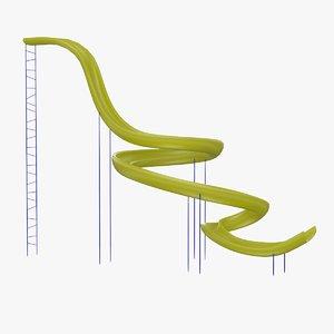 3d model tolo toy slide