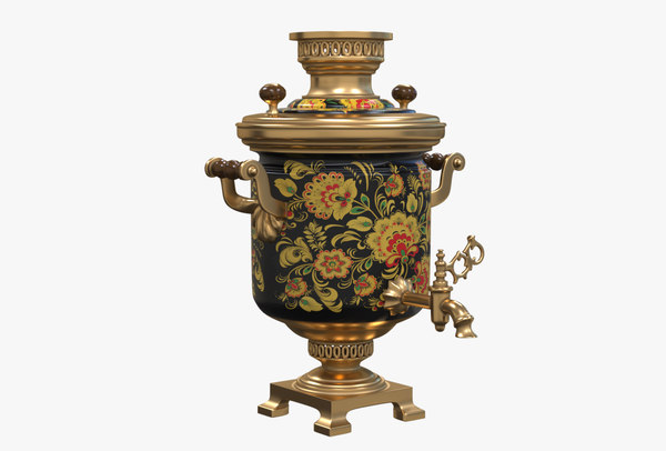 russian samovar 3D model